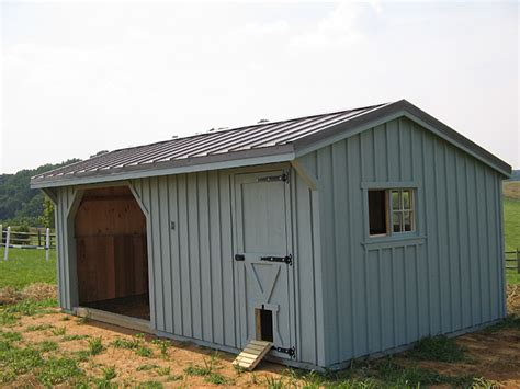 Shed Chicken Coop by Run In Shed With Chicken Coop