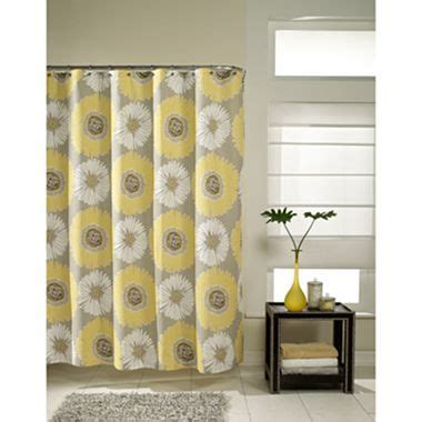 Jcpenney Bathroom Shower Curtains Bloom Shower Curtain Jcpenney Decor Grey Baths