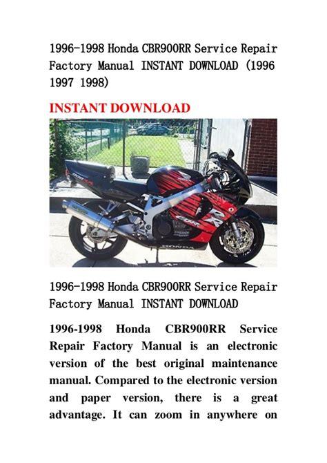 service manual car repair manual download 1998 honda odyssey windshield wipe control haynes 1996 1998 honda cbr900 rr service repair factory manual instant downl