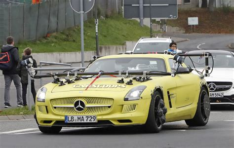 Mercedes Sls Amg by Mercedes Sls Amg Electric Drive Makes A Surprising Return