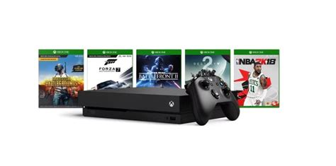 game console project x deal buy an xbox one x console and get a free game