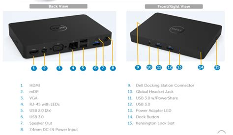 dell dock wd15 usb type c information compatibility and specifications dell us
