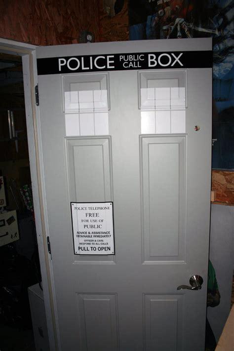 Tardis Door Sticker by Envy Of The Neighborhood Dr Who Tardis Door Decals