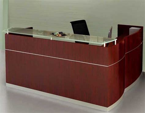 L Shaped Napoli Reception Desk With Drawers Napoli Reception Desk