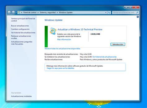 actualizar visor de imagenes windows 10 actualiza windows 7 o 8 1 a windows 10 desde windows