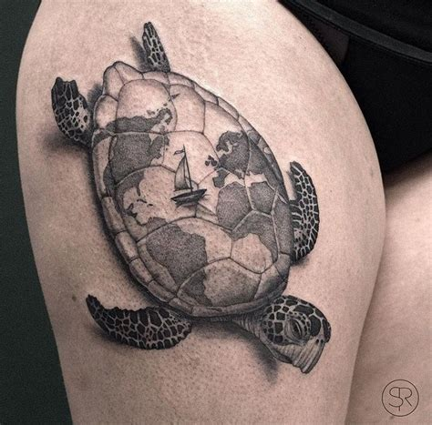 sea turtle tattoo sven rayen turtle the new stuff