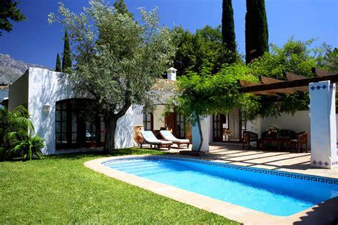 2 bedroom villas in spain two bedroom villa with pool marbella club spain casol
