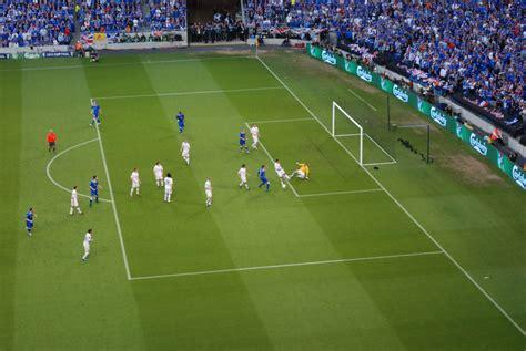 dimensione porta calcio penalty area