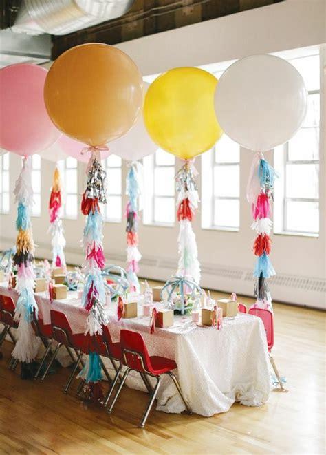 Ideen Tischdekoration Geburtstag by Wunderbare Tischdeko Zum Kindergeburtstag
