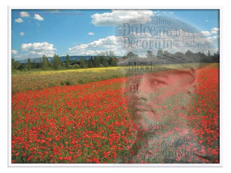 Home Needs Ww1 Poetry And Culture