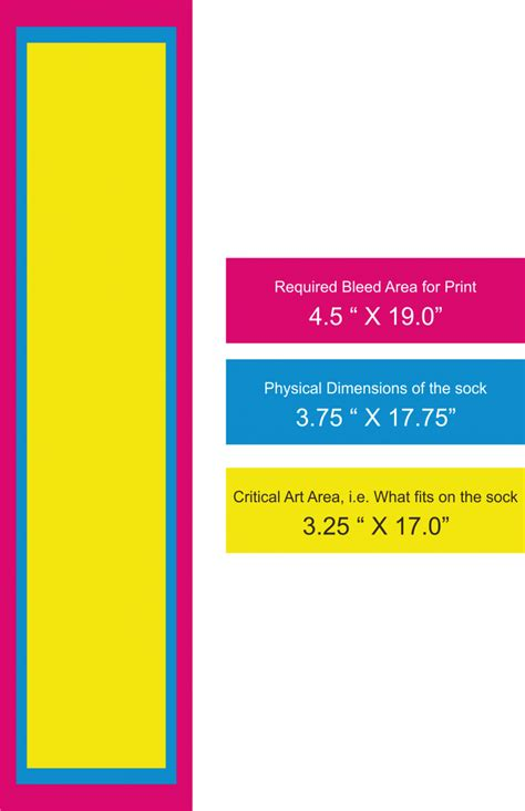 Sock Template Custom Printed Socks Sublimated Socks Sock Sublimation Template
