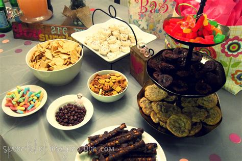 table foods for baby baby shower food ideas