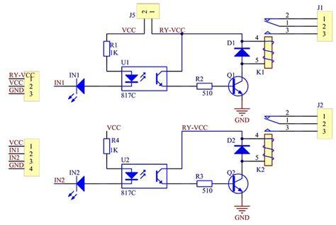 dual channel relay module pinout working interfacing