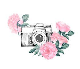 camera watercolor photos, royalty free images, graphics