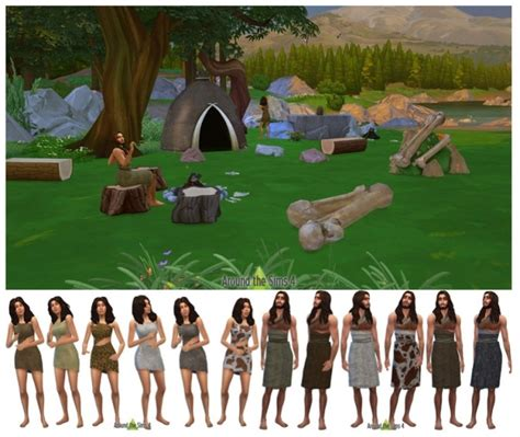 the sims challenges around the sims 4 history challenge prehistoric objects
