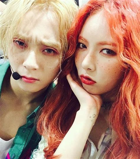 4minute is bold and sexy for quot cosmopolitan quot hyunagram triple h 2nd stage edawn and hyuna bts photo