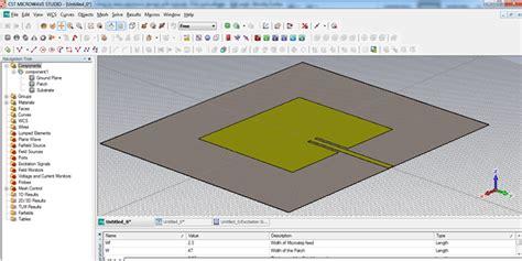 tutorial antenna web design download cst microwave patch antenna tutorial