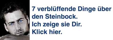 Wer Passt Zum Steinbockmann by Sternzeichen Januar Die 2 Superstars Des Monats