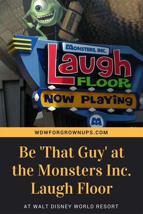 Disney World Laugh Floor - be that at the monsters inc laugh floor