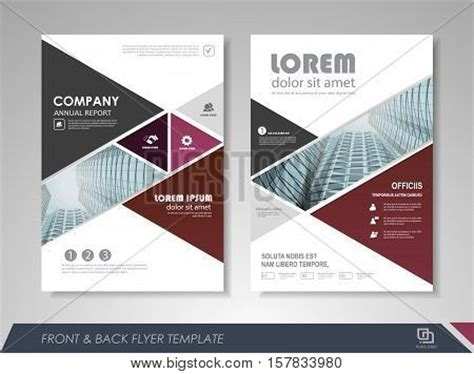modern brochure design templates modern purple brochure design vector photo bigstock