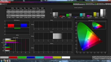 review spectracal calman calibration software  dpg