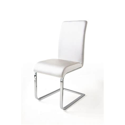 white leather armchair with chrome legs lotte black faux leather dining chairs with chrome legs and