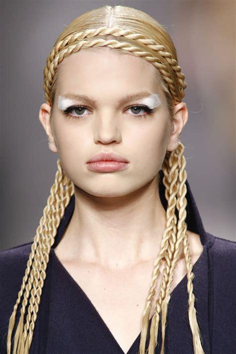 braided genitals hairs eva s make up hair artist como hacer una trenza cuerda