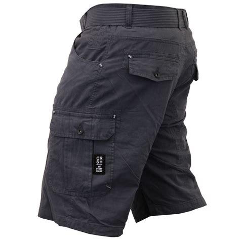 Celana Cargo Army Belt mens crosshatch camouflage shorts cargo combat belt knee length ebay