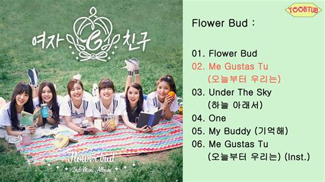 Gfriend Flower Bud by Album Gfriend 여자친구 Flower Bud 2nd Mini Album