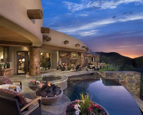 arizona style homes santa fe style homes design pictures remodel decor and