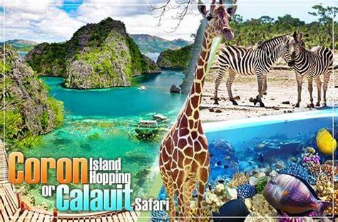 coron getaway  calauit safari trip