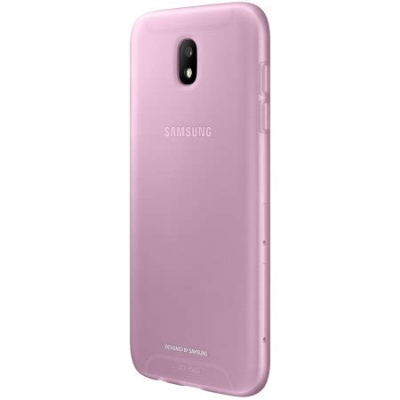 official samsung galaxy j5 2017 jelly cover case pink