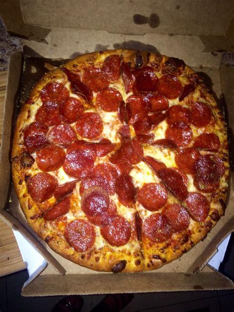 domino pizza large medium pepperoni pizza w extra pepperoni yelp
