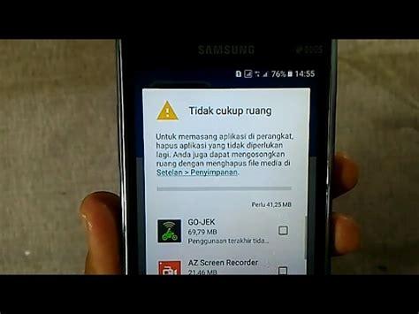 Memori Hp Samsung cara mengatasi memori penuh di hp samsung tanpa root
