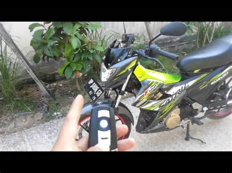 Alarm Motor Menggunakan Remot tutorial pemakaian remot alarm maling pada motor n