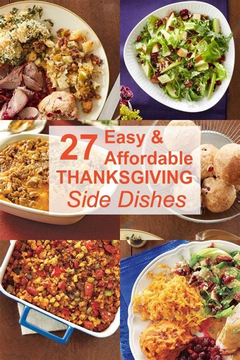 33 easy thanksgiving side dishes thanksgiving sides thanksgiving and good ideas
