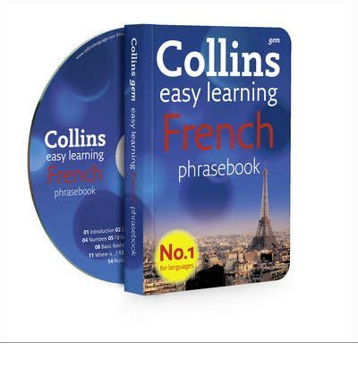 collins french phrasebook and collins french phrasebook and cd pack sophie karnavos 9780007358489