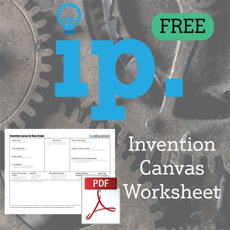 invention canvas free ip education