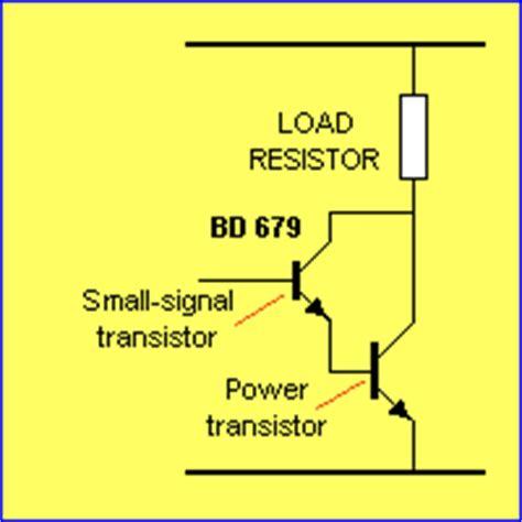 darlington transistor how it works how a bd679 works