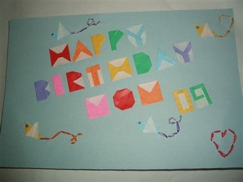Birthday Card Origami - origami birthday card 183 an origami card 183 origami and
