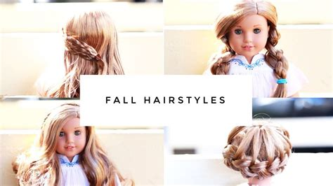 Doll Hairstyles Easy by Simple Easy American Doll Hairstyles 2