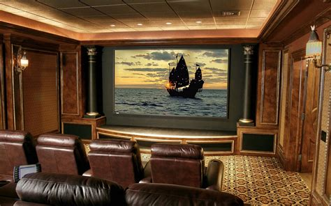feature design ideas personable home theatre room design