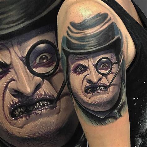 batman penguin tattoo 21inkedd penguin tattoo by david garc 237 a thepenguin