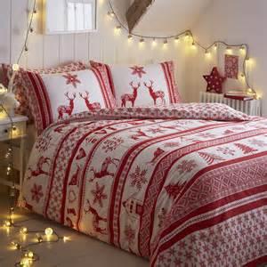 christmas tree santa reindeer snowman quilt duvet