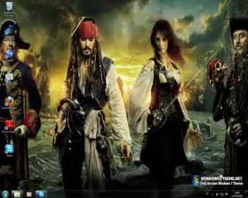 pirates caribbean 4 windows 7 theme download