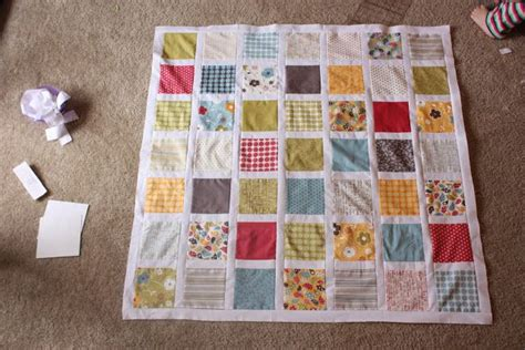 Make A Baby Quilt by Make Square Baby Quilt Top Tutorial Quilting