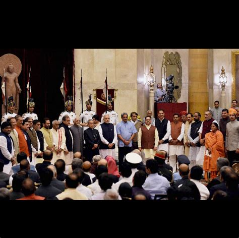 Nda Cabinet Ministers by Even With 66 Ministers Narendra Modi Government Leaner