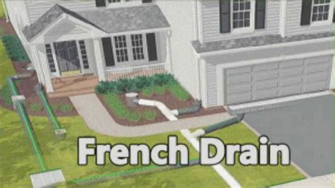 House Plans Nc by Install A French Drain Youtube