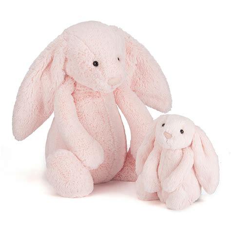 Jelly Cat Large Bashful Pink Bunny leo jellycat bashful bunny light pink large