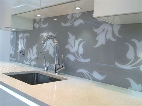 grey patterned splashback pin by adplan glass on patterned glass splashbacks pinterest